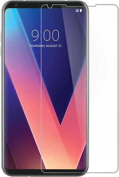 Microcase LG V30 Tempered Glass Cam Ekran Koruyucu