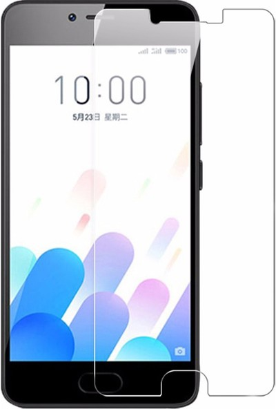 Microcase Meizu M5C 5.0 İnch Tempered Glass Cam Ekran Koruyucu