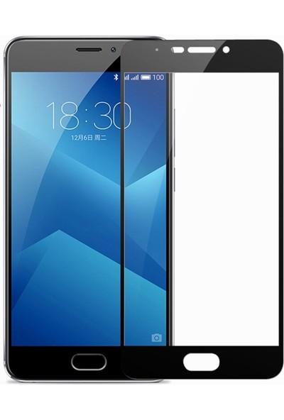 Microcase Meizu M6 Note Flexible Çerçeveli Esnek Tempered Cam Ekran Koruyucu
