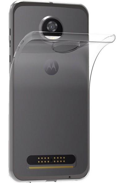 Microcase Motorala Moto Z2 Play Ultra İnce 0.2 Mm Soft Silikon Kılıf