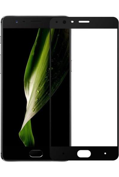 Microcase Oneplus 3 Tam Kaplayan Tempered Glass Ekran Koruyucu Cam Filmi