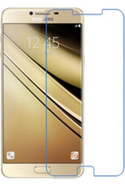 Microcase Samsung Galaxy C8 Nano Glass Esnek Cam Ekran Koruyucu