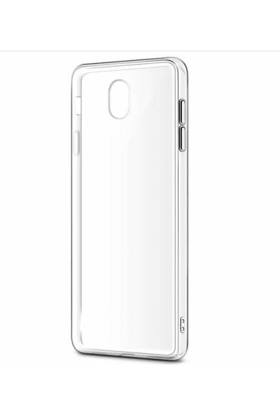 Microcase Samsung Galaxy J5 Pro İnce Silikon Kılıf + Tempered Glass