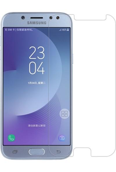 Microcase Samsung Galaxy J7 Pro Tempered Glass Cam Ekran Koruyucu