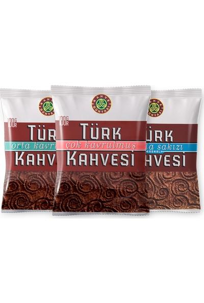 Kahve Dünyası 100 gr Türk Kahvesi Deneme Paketi 3'lü