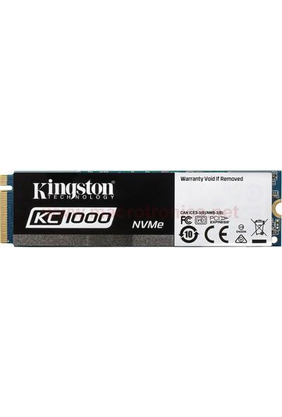 Kingston KC1000 960GB 2700MB-1600MB/s SSD (SKC1000/960G)