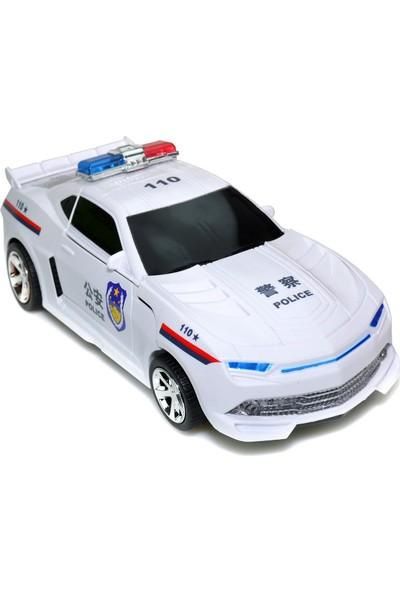 Powerhob Oyuncak Robot Polis Arabası 30 Cm
