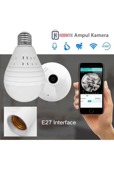 Hobimtek Akıllı Panoramik 360° IP Ampul Kamera