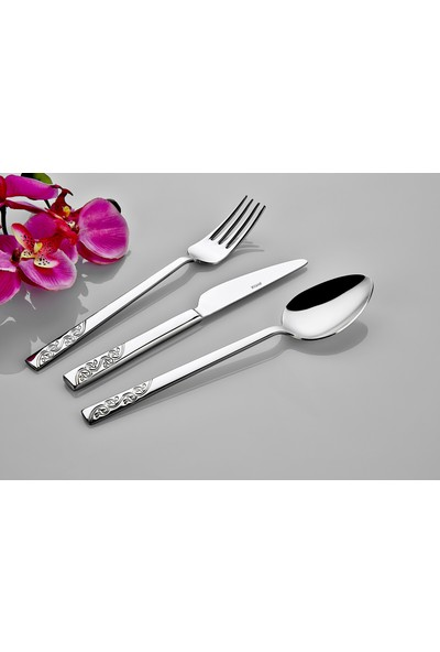 İnter Çelik Safir 12 Adet Tatlı Bıçağı