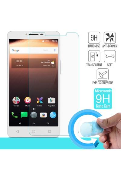Microsonic Alcatel A3 XL Nano Cam Ekran koruyucu film