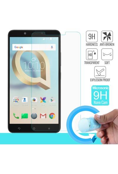 Microsonic Alcatel A7 XL Nano Cam Ekran koruyucu film