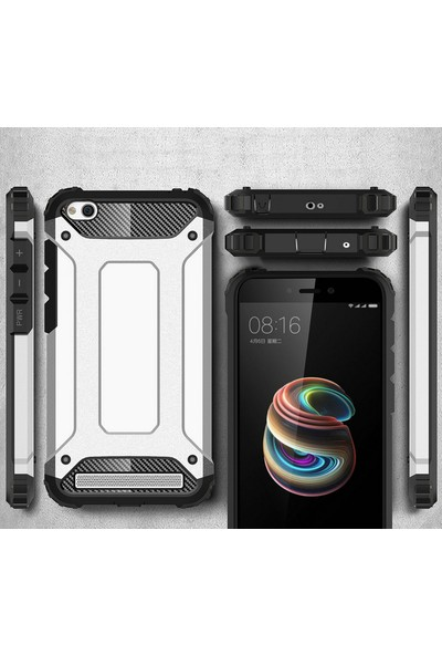 Microsonic Xiaomi Redmi 5A Kılıf Rugged Armor