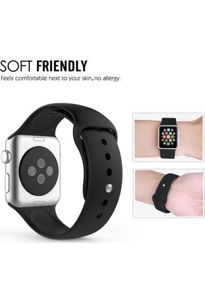 Microsonic Apple Watch Series 3 42mm Silikon Kordon