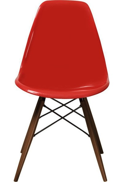 Eames Sandalye Kırmızı