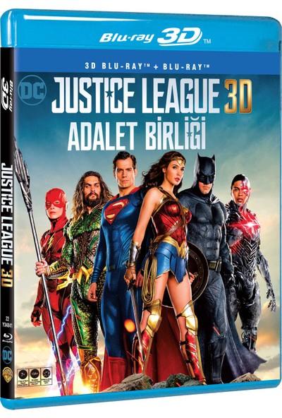 Adalet Birliği-Justıce League 3D+2D Blu Ray Disc