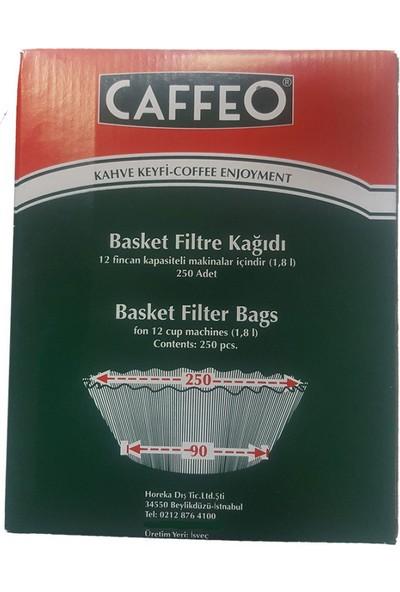Caffeo 90/250 Basket Filtre Kahve Kağıdı - 250 adet
