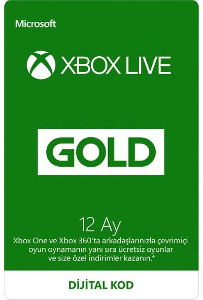 Xbox Live Gold Üyeliği - 12 Ay
