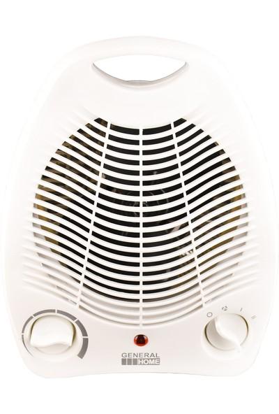 General Home Gm-7177 Fanlı Termostatlı Devrilme Emniyetli Fanlı Isıtıcı