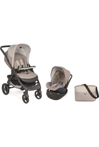 Chicco Duo Style Go Up Travel Sistem Bebek Arabası / Krem