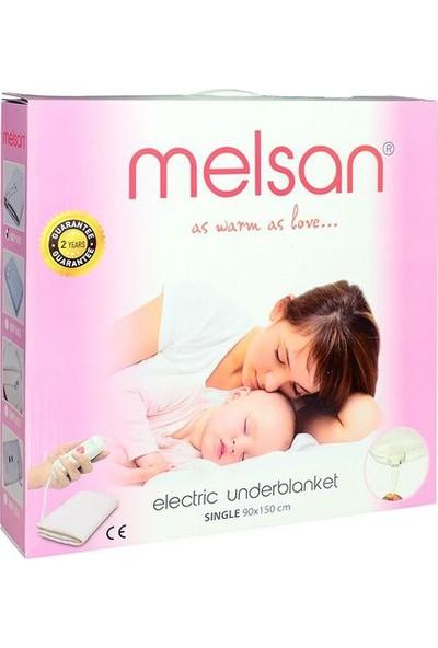 Melsan Comfort Tek Kişilik Elektrikli Battaniye