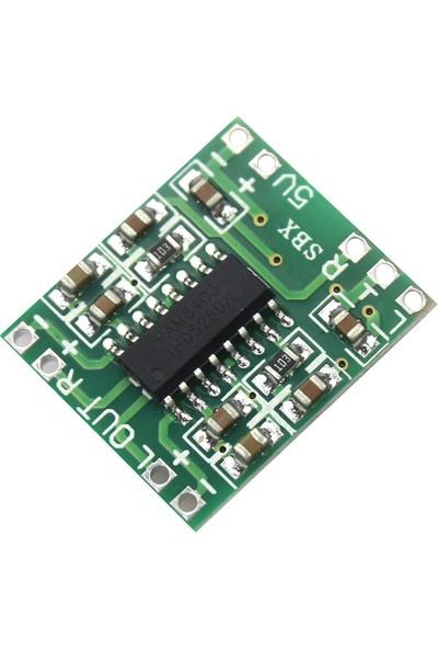 Robotekno PAM8403 2 Kanal Stereo Dijital Amfi Digital Amplifier 2 x 3W