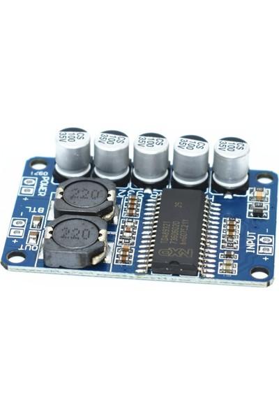 Robotekno Mono Amfi Devresi 35W Ses Yükseltici TDA8932 12V 24V Amplifier