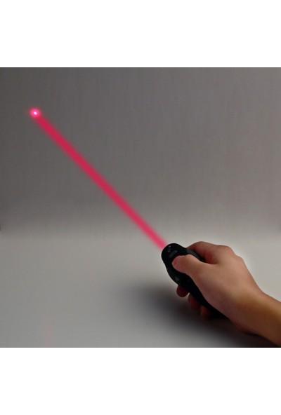 Robotekno Lazer Sunum Kumandası Kablosuz Sunum Kalemi Powerpoint Slayt