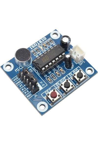 Robotekno ISD1820 Ses Kayıt Modülü Ve Hoparlör Arduino Raspberry PI PIC
