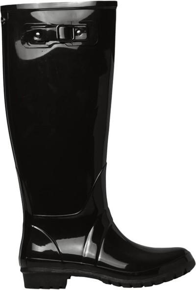 Igor W10132-F28 Siyah Kadın Yağmur Çizmesi