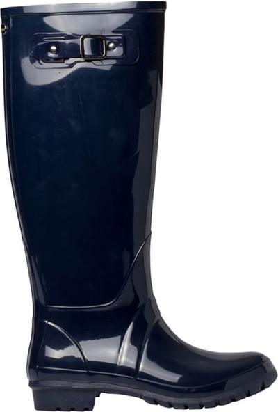 Igor W10132-O94 Lacivert Kadın Yağmur Çizmesi