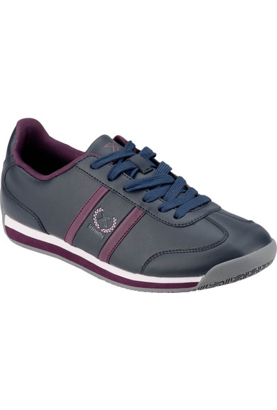 Kinetix 1271371 Lacivert Mürdüm Kadın Sneaker