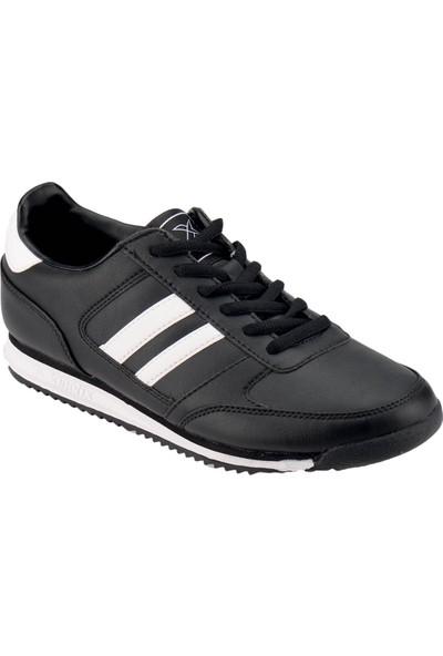 Kinetix 1272797 Siyah Beyaz Kadın Sneaker