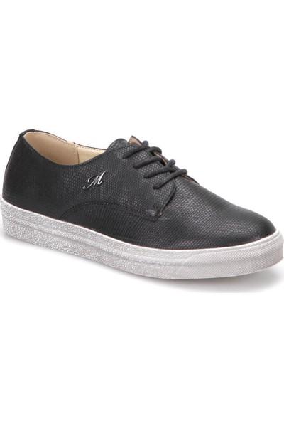 Mavi Liver Siyah Kadın Ayakkabı