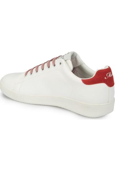 Mavi Lizza Beyaz Kadın Sneaker