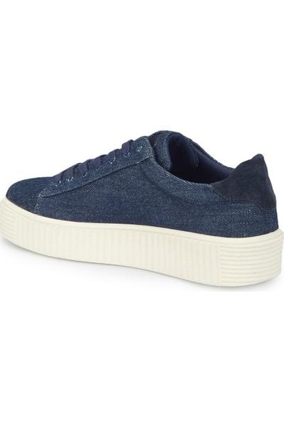 Mavi Violet Lacivert Kadın Ayakkabı