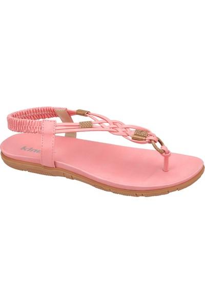 Kinetix 1241221 Pembe Kadın Sandalet