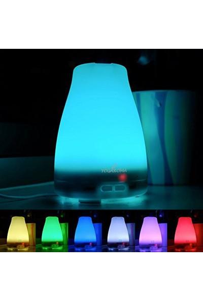 YogAroma Aroma Terapi Hava Nemlendirici Ve 4 Adet Aroma Terapi Yağı