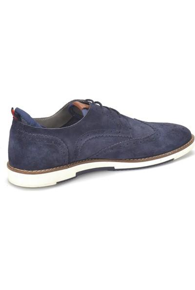 Garamond 300 Lacivert Erkek Deri Ayakkabı