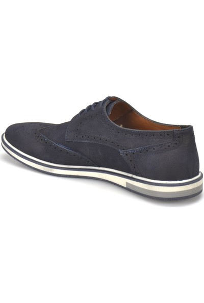Garamond Prg-7 Lacivert Erkek Deri Ayakkabı