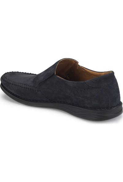 Polaris 5 Nokta 81.105517Nm Lacivert Erkek Deri Ayakkabı