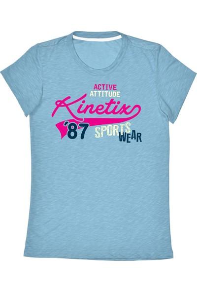 Kinetix A5132570 Mavi Kız Çocuk T-Shirt