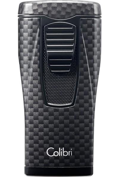 Colibri Monaco 3 Jet Alev Karbon Puro Çakmak Siyah Lı880T10