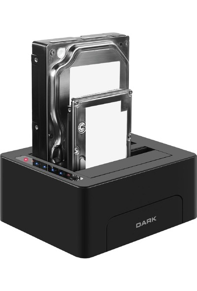 "Dark D26C USB3.0 Çiftli 2.5""/3.5"" Sata Offline Clone Docking Station (DK-AC-DSD26C)"