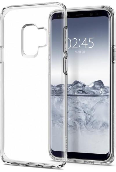 Spigen Samsung Galaxy S9 Kılıf Liquid Crystal 4 Tarafı Koruma Crystal Clear - 592CS22826