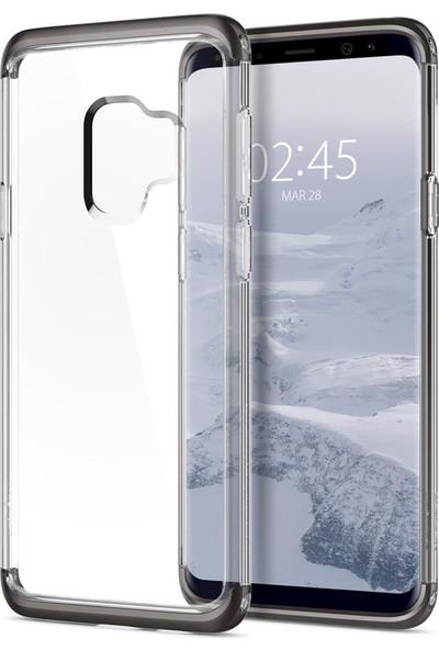 Spigen Samsung Galaxy S9 Kılıf Neo Hybrid NC Crystal Gunmetal - 592CS22851