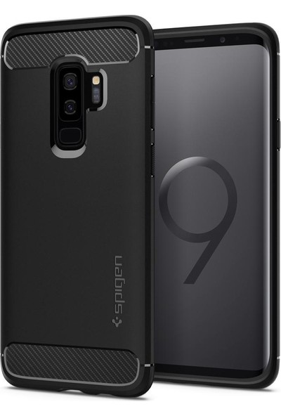 Spigen Samsung Galaxy S9 Plus Kılıf Rugged Armor - 593CS22921