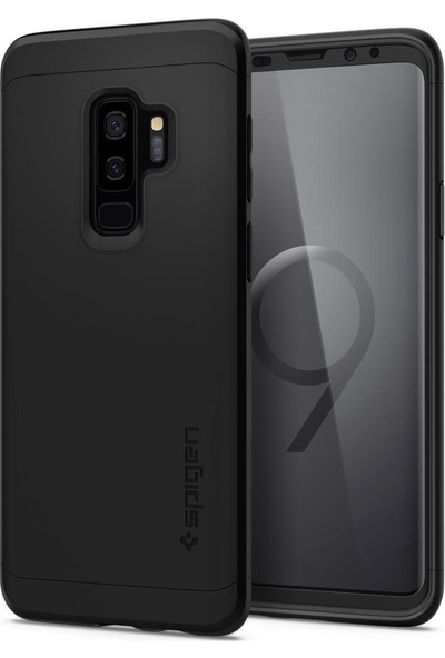Spigen Samsung Galaxy S9 Plus Kılıf Thin Fit 360 Black - 593CS22959
