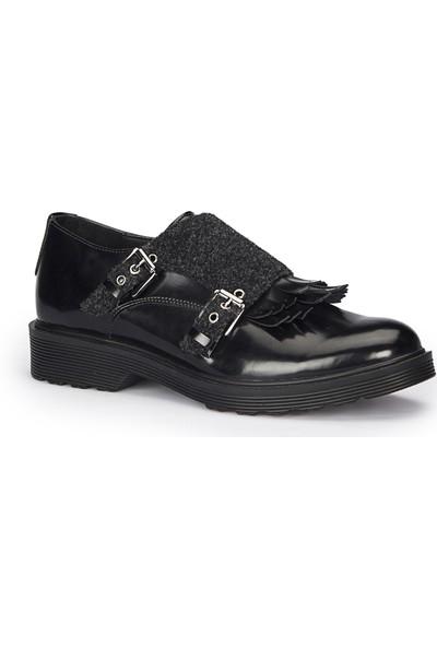 Polaris 72.310336.Z Siyah Kadın Ayakkabı
