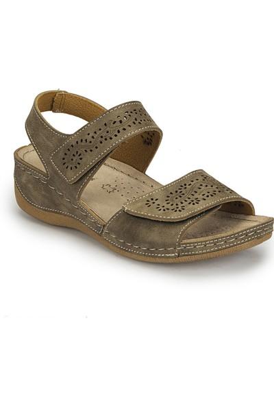 Polaris 81.157359.Z Kum Rengi Kadın Sandalet