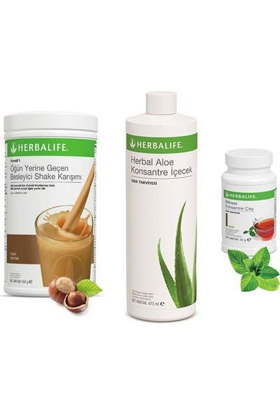 Herbalife Fındık Shake - Klasik Çay 50 gr - Aloe Vera